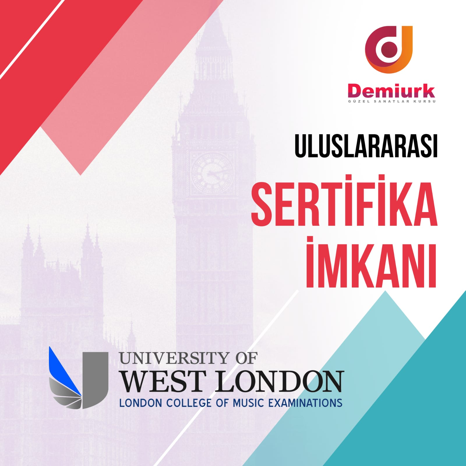 LONDON COLLEGE of MUSİC